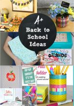Fun Back to School Ideas
