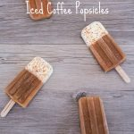 Cookies & Cream Iced Coffee Popsicles