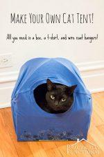 DIY Cat Tent Bed