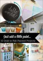 Just Add Paint To Totally Transform A Project!
