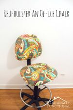 Reupholster Your Own Dining Room Table Chair You Tube