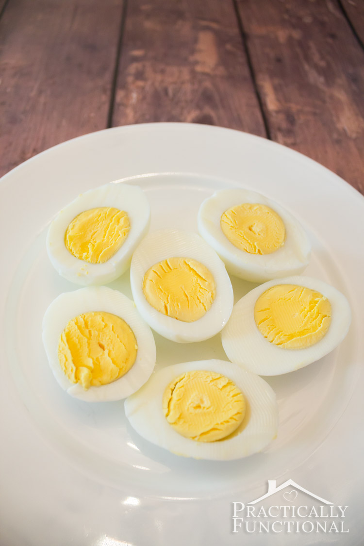 How to hard boil eggs perfectly every time!