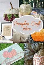Fall Pumpkin Craft Ideas