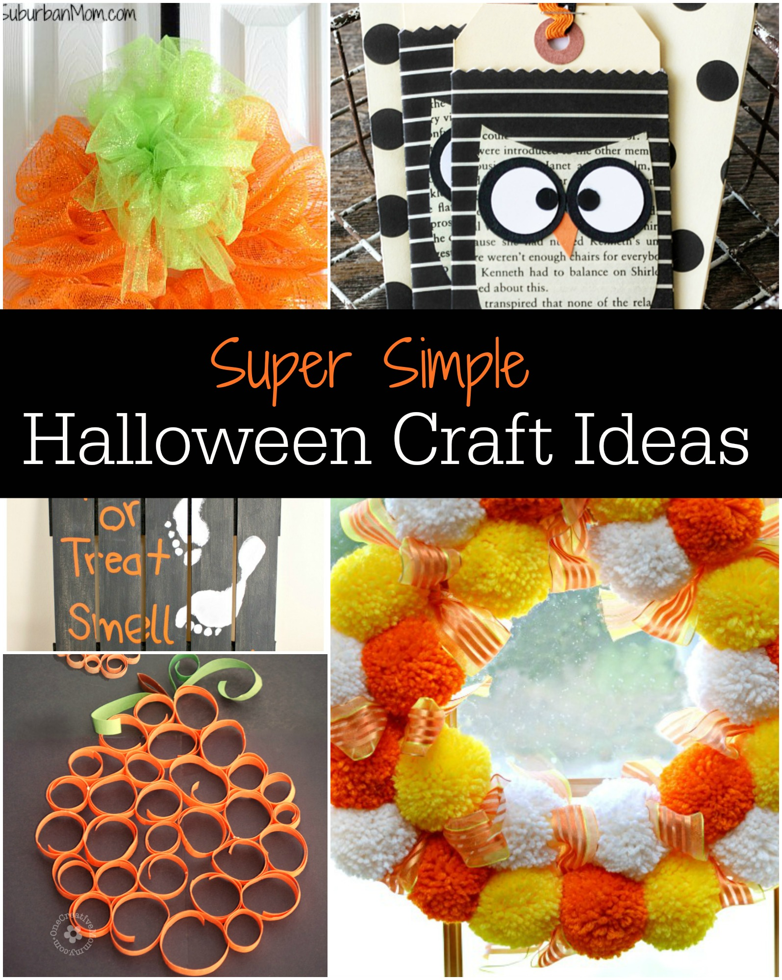 Easy Halloween Crafts To Do With Toddlers