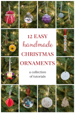 12 Easy Handmade Christmas Ornaments Is Now Available!