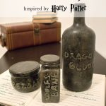 These DIY apothecary jars are a great way to recycle empty containers, and perfect quick and easy decor for Halloween!