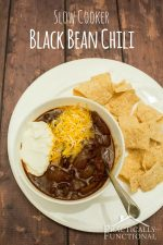 Slow Cooker Black Bean Chili Recipe