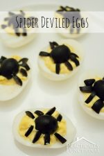 Spider Deviled Eggs Recipe