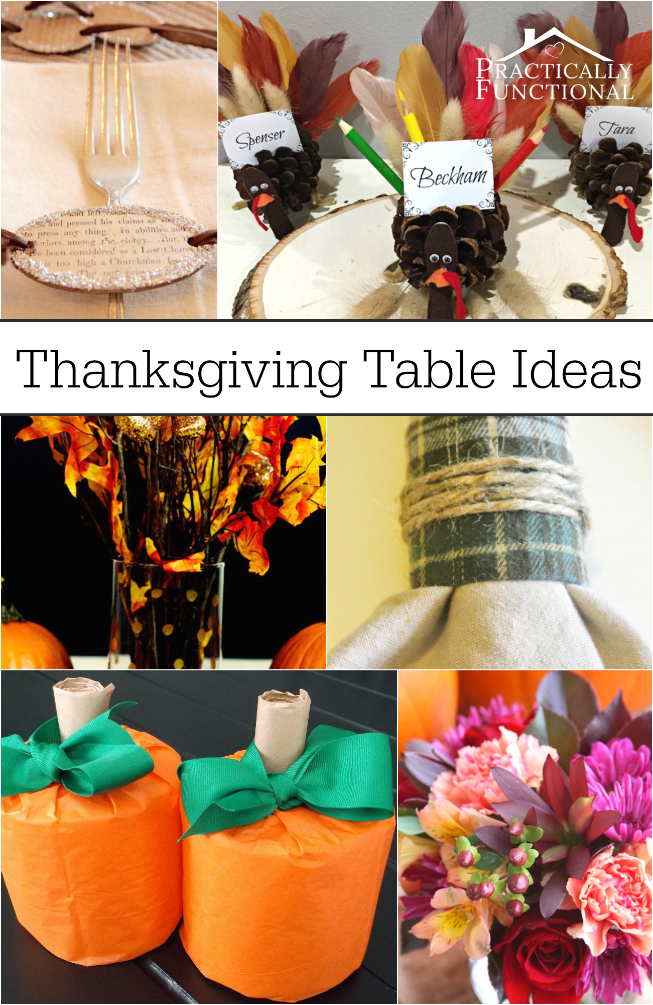 Thanksgiving table decoration ideas - Thanksgiving dinner table decorations ...