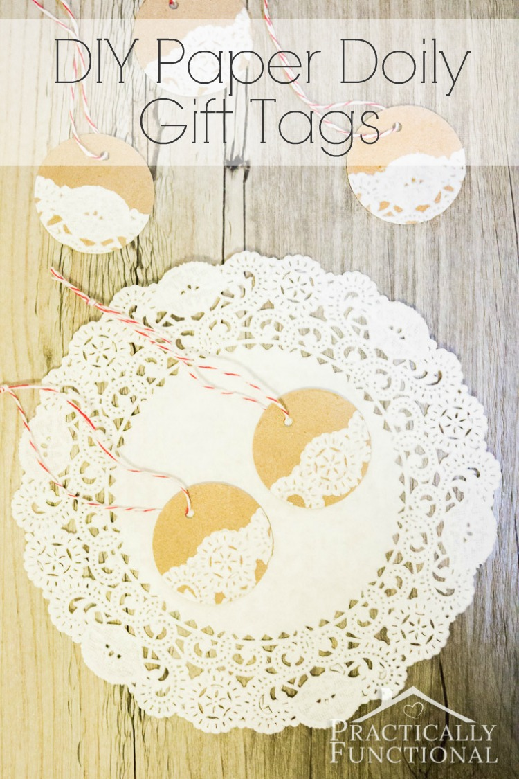 Paper Doily Christmas Decorations