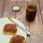 Apple butter recipe in the slow cooker! Love this idea for neighbor gifts!