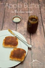 Homemade Slow Cooker Apple Butter Recipe