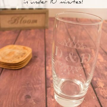 How To Etch Glass At Home