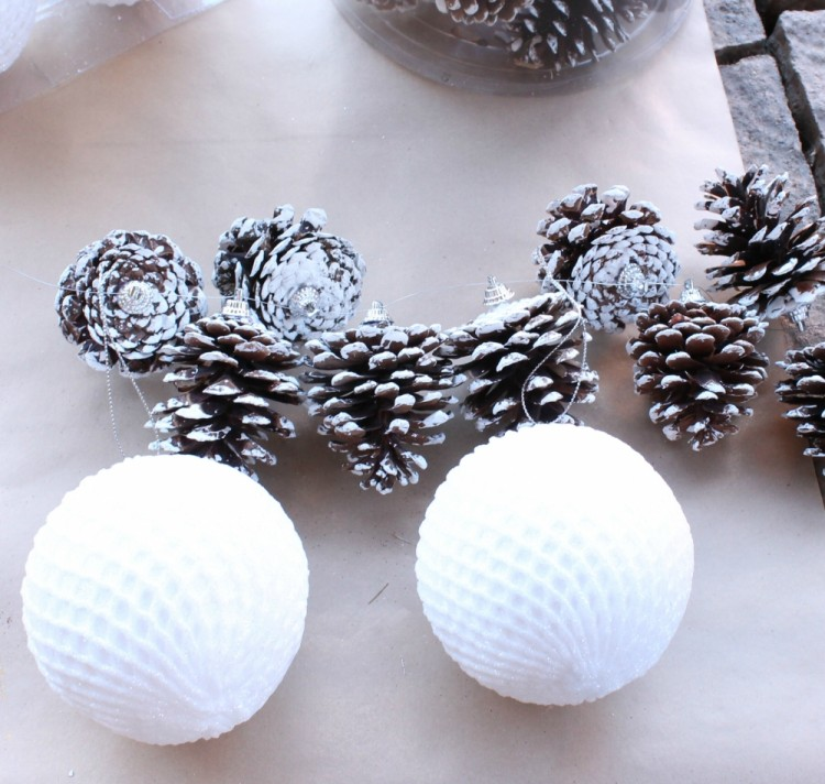 Pine Cone Garland from A Mom's Take