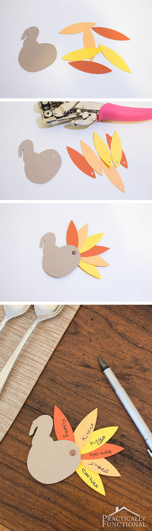 These little paper turkeys are perfect for sharing what you're thankful for this year; great Thanksgiving crafts for kids!