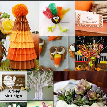 10 Thanksgiving Craft Ideas
