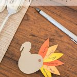 These little paper turkeys are perfect for sharing what you're thankful for this year; great Thanksgiving craft for kids too!