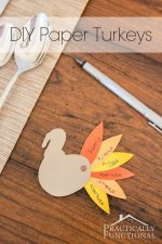 Thanksgiving Crafts For Kids: Thankful Paper Turkeys