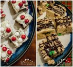 Peppermint Brownies & Peanut Butter Rice Krispies Treats!