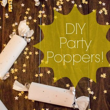 How To Make Party Poppers!