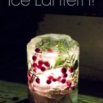 Love these gorgeous ice lanterns! Perfect for the front porch now that it's so cold outside! And so easy to make too!