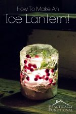 How To Make Ice Lanterns For Under $5