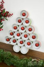 Recycled Tin Can Christmas Tree For Under $5!