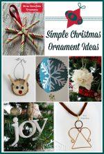 Super Simple Christmas Ornaments