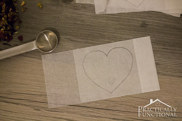DIY Heart Shaped Tea Bags for Valentine's Day-11