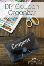 Turn An Expandable File Into A DIY Coupon Organizer