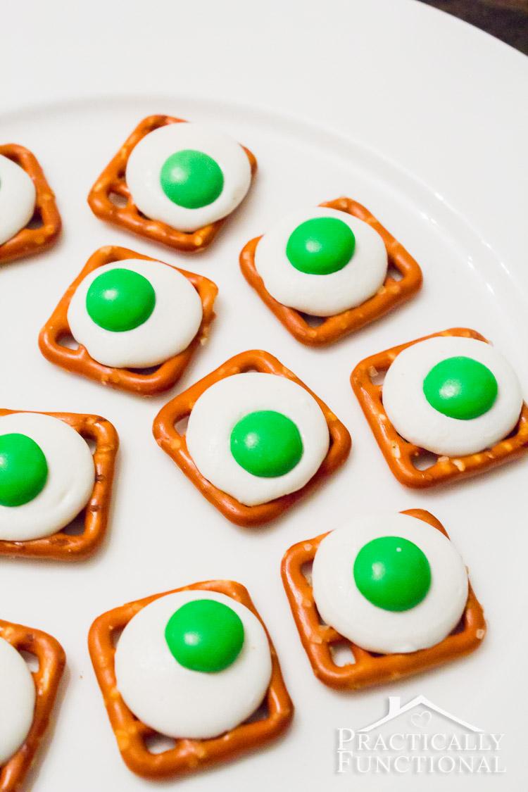Green Eggs Ham Pretzel Bites on Pinterest Dr Seuss Crafts For Preschoolers