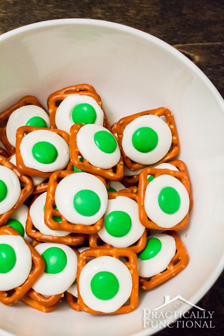Green Eggs Ham Pretzel Bites on Pinterest Decorating Ideas Dr Seuss