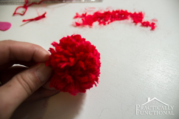 How To Make Valentine's Day Pom Pom Monsters-10