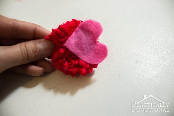 How To Make Valentine's Day Pom Pom Monsters-11
