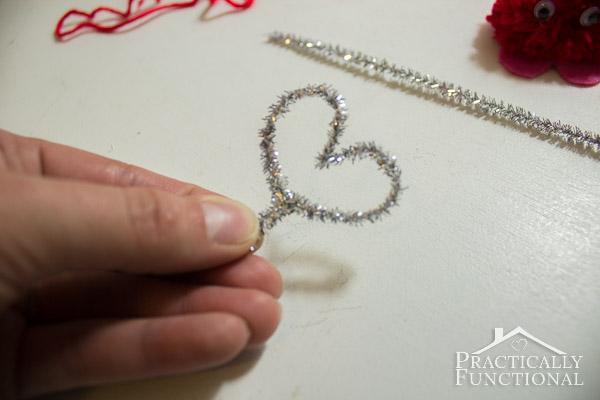 How To Make Valentine's Day Pom Pom Monsters-13