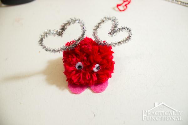 How To Make Valentine's Day Pom Pom Monsters-14