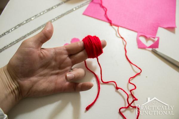 How To Make Valentine's Day Pom Pom Monsters-7
