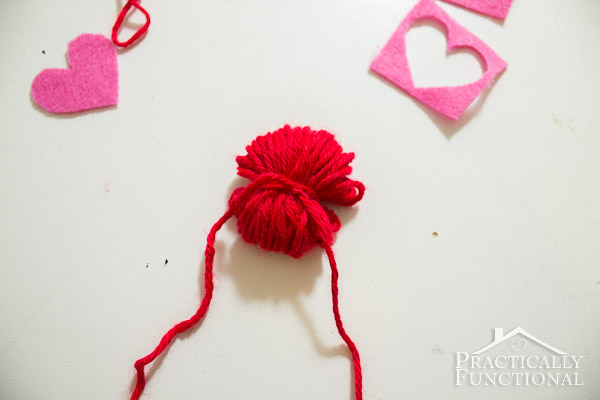 How To Make Valentine's Day Pom Pom Monsters-8