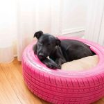 DIY Dog Bed From A Tire