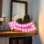 DIY Lighted Marquee Sign