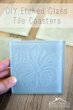 How To Make Etched Glass Tile Coasters