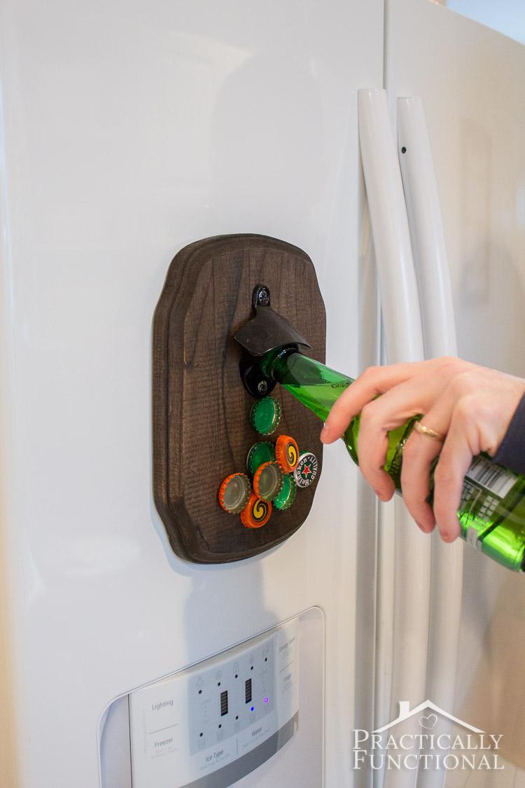 How To Make A Diy Magnetic Bottle Opener