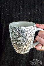 How To Make A DIY Sharpie Mug That's Washable!