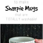 How To Make Washable Sharpie Mugs!