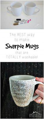 How To Make A DIY Sharpie Mug That's Washable!