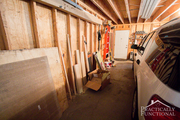 Garage Remodel Plans: The Before!