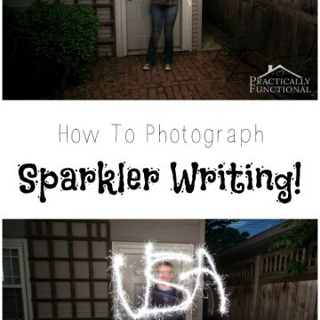 How To Photograph Sparkler Writing
