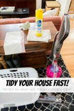 How To Tidy Your House Fast!