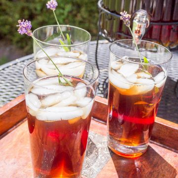 Lavender Iced Tea Recipe