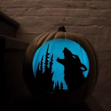 How To Make No-Carve Glow In The Dark Pumpkins
